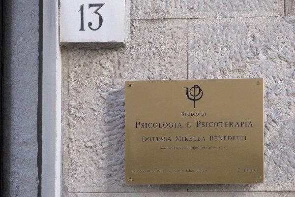 Studio di Psicologia e Psicoterapia Dott.ssa Mirella Benedetti